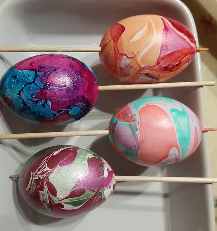 diy easter eggs decorating ideas 16