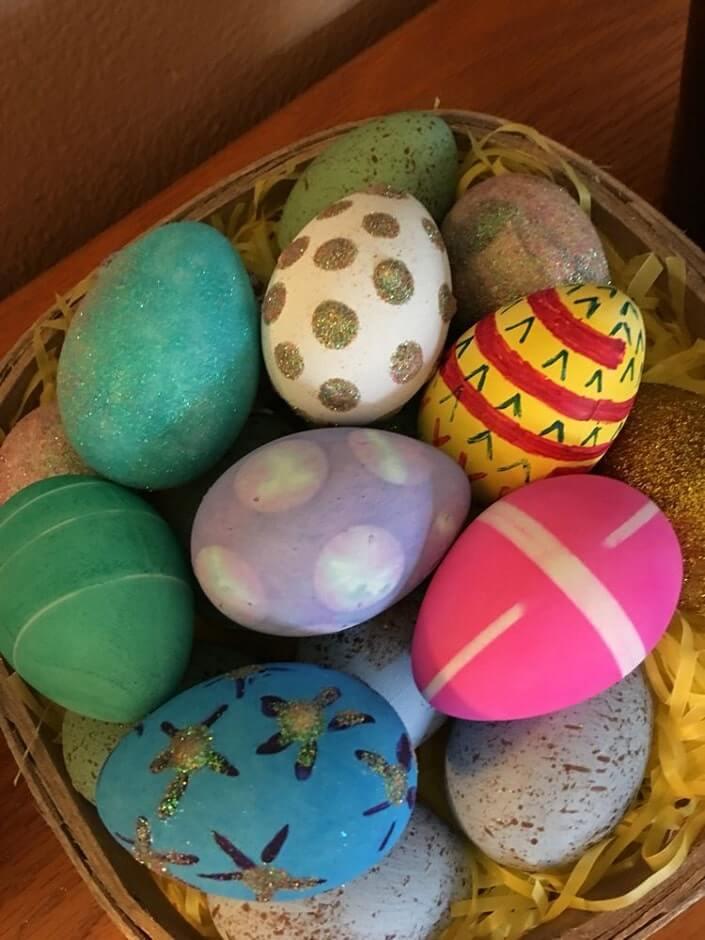 diy easter eggs decorating ideas 17