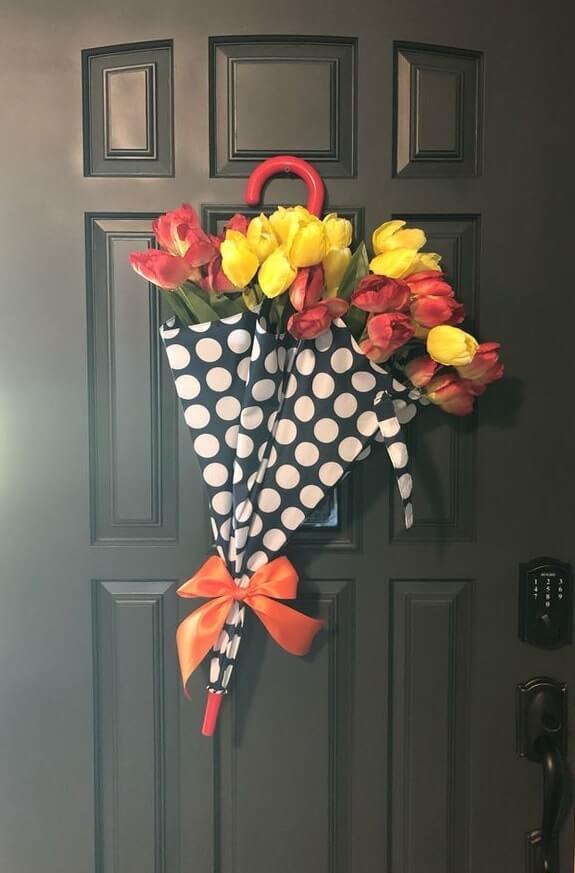 diy easter wreath 15