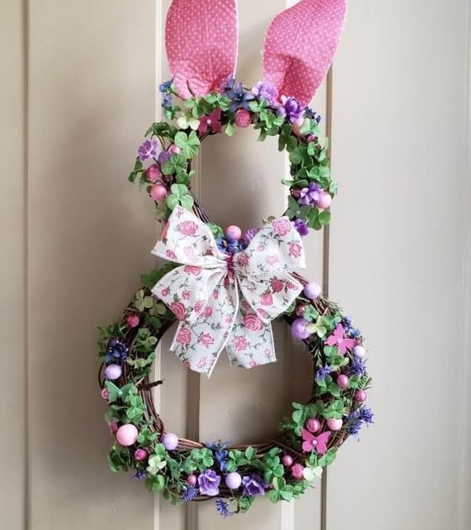diy easter wreath 18