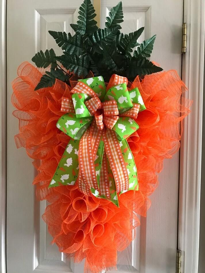 diy easter wreath 6
