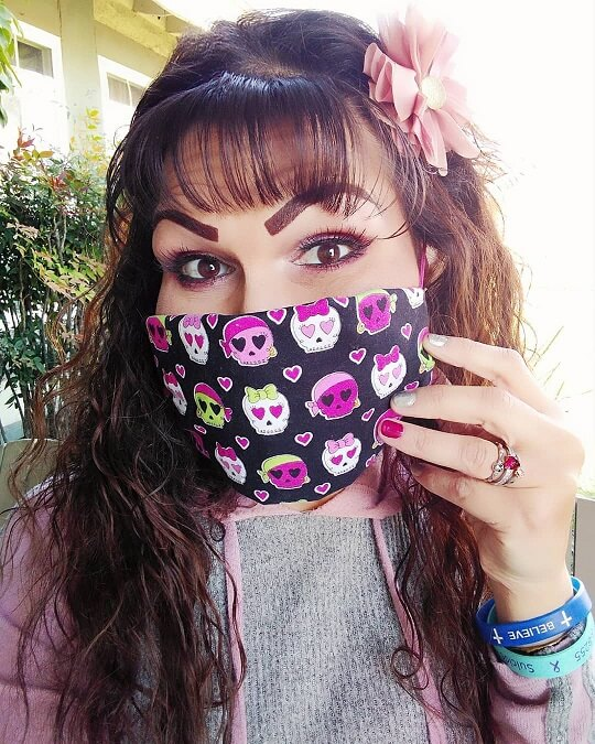 no sew face mask 1