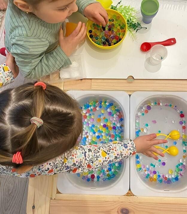 easy sensory activities toddlers preschoolers home 4