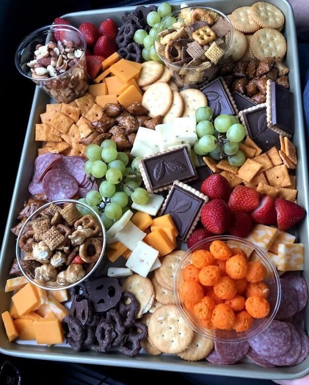 family movie night snack board ideas 6