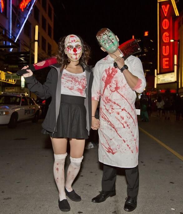 creative couples halloween costumes ideas 14