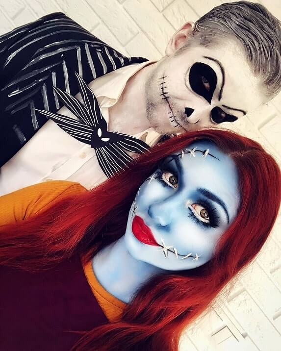 creative couples halloween costumes ideas 18
