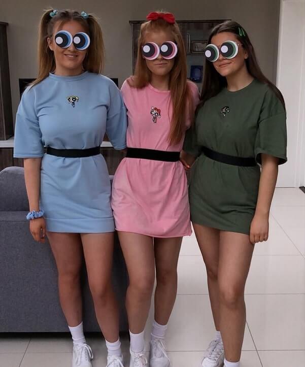 halloween costumes teenage girl group 17