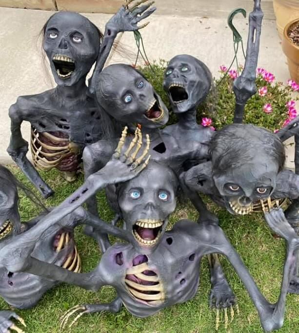 cheap easy diy halloween decorations 9