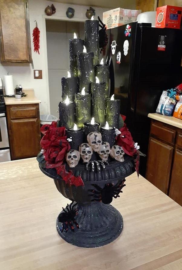cheap easy diy indoor halloween decoration ideas 11