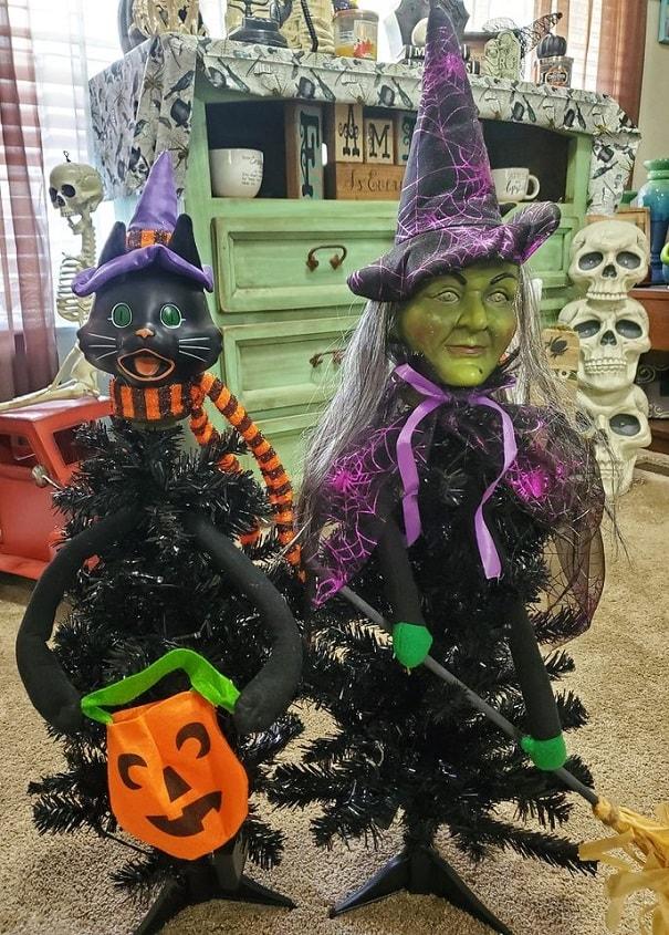 cheap easy diy indoor halloween decoration ideas 14