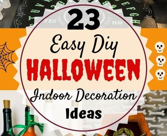 diy indoor halloween decorations