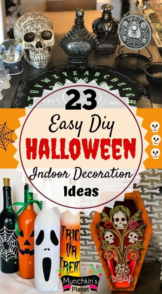 Cheap Easy Diy Indoor Halloween Decoration Ideas Munchkins Planet,How To Make A Small Bunk Bed In Minecraft