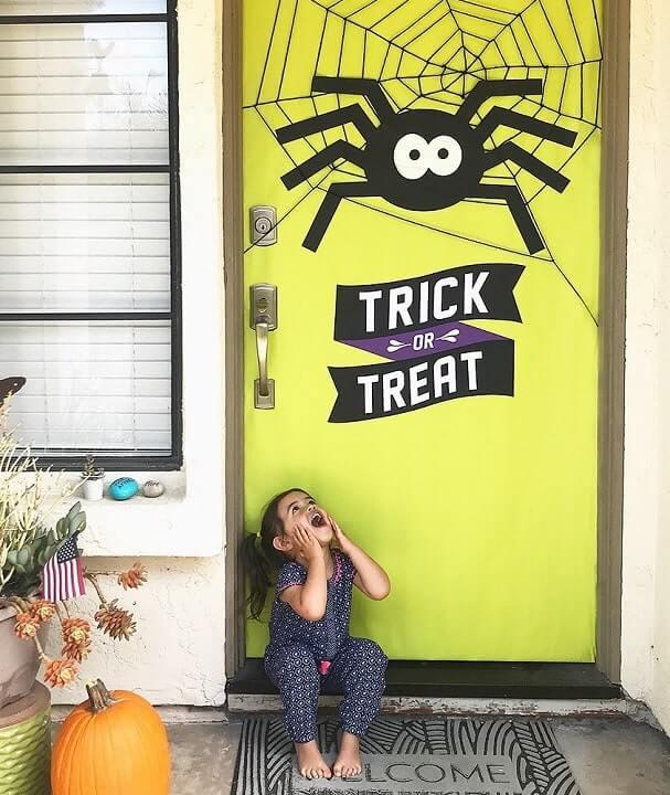 diy halloween door decorations ideas 4