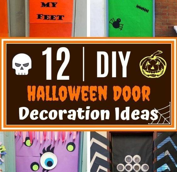 12 DIY Halloween Door Decorations Ideas