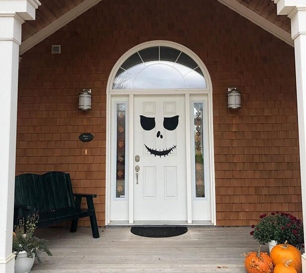 diy halloween door decorations ideas 8