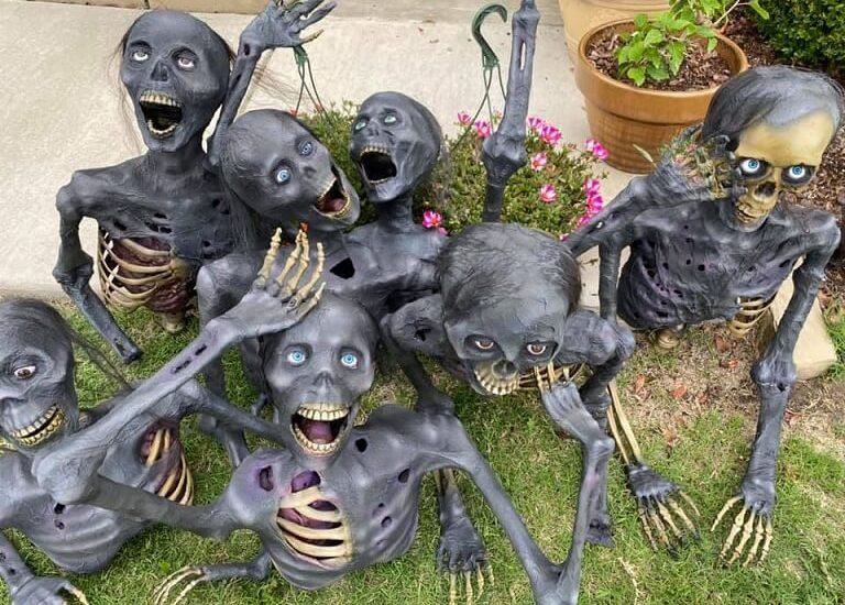 most creepy halloween decoration front yard 63