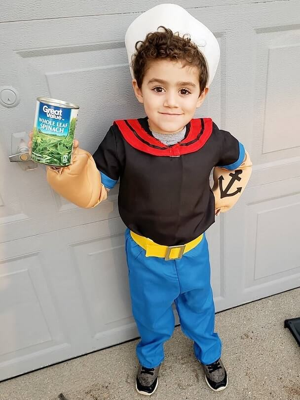 scary and funny halloween costumes for kids 34