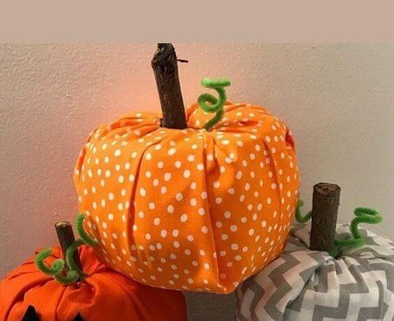 diy toilet paper pumpkins