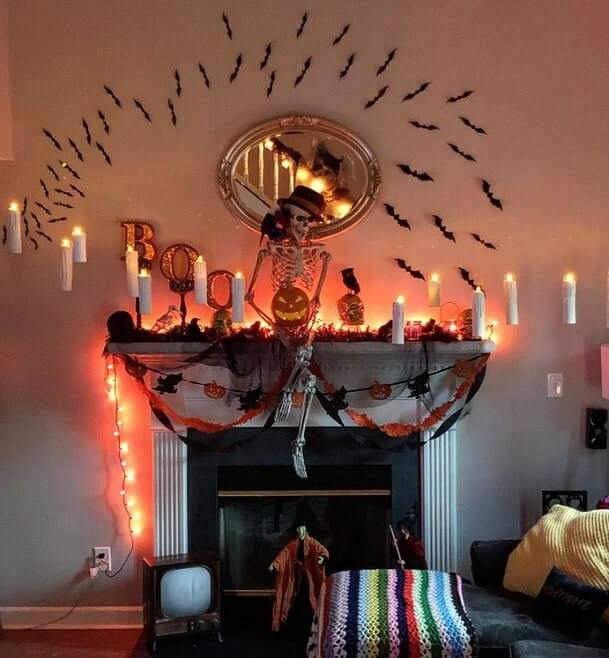 floating candles halloween decorations 4