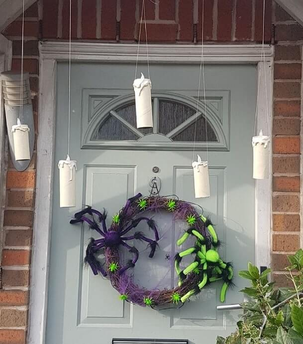 floating candles halloween decorations 5