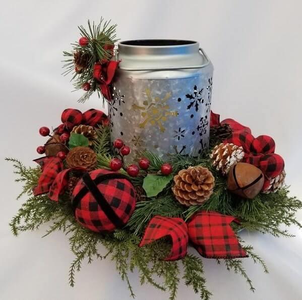 christmas table centerpieces decorations ideas 31