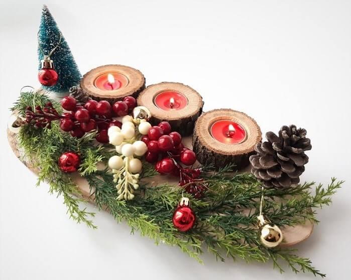 christmas table centerpieces decorations ideas 32