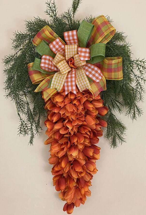 diy easter wreath 21