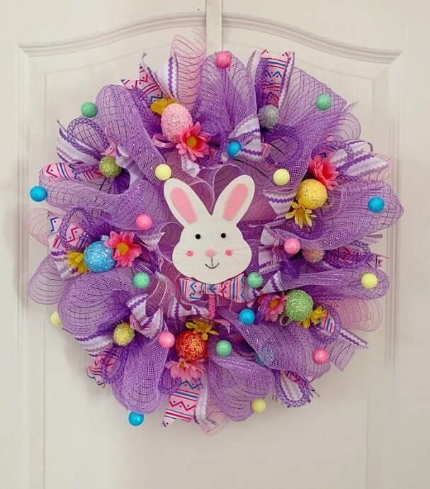 diy easter wreath 23