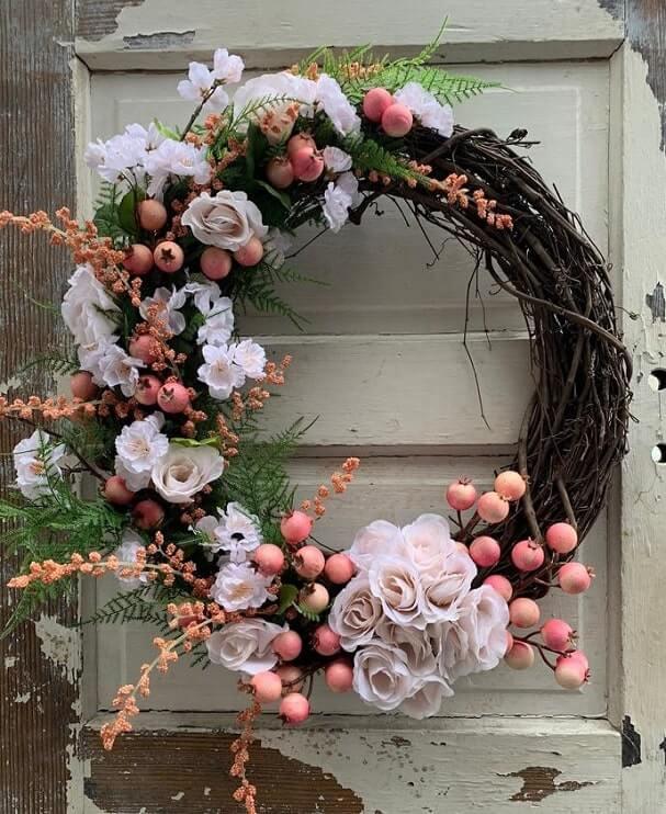 diy easter wreath 31