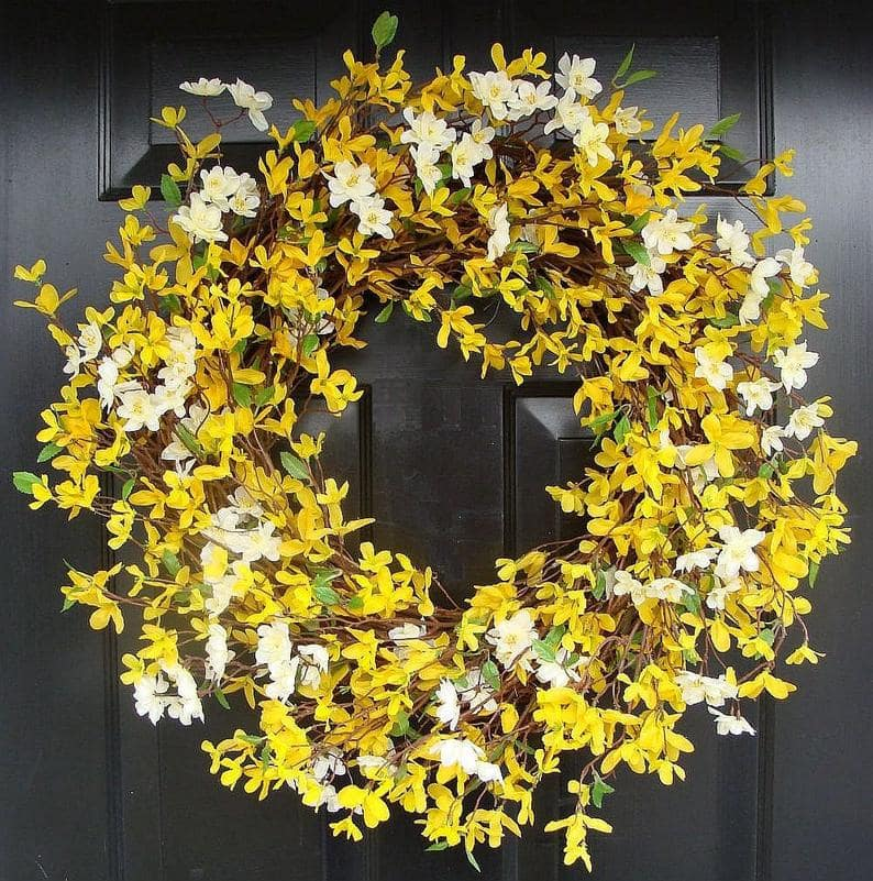 diy easter wreath 32
