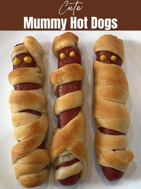 Cute Mummy Hot Dogs