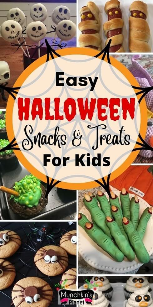 halloween snacks treats